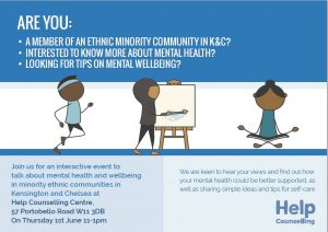 Free workshop for members of minority ethnic communities