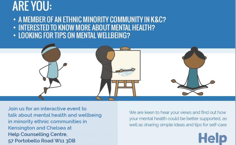 Free workshop for members of minority ethnic communities