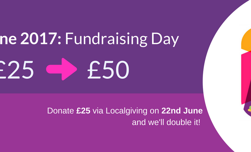 Donate up to £25 via Localgiving and get it matched on 22 June